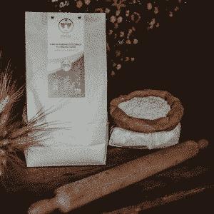 Fior di Farina integrale di grano duro Senatore Cappelli Dorada, 100% sarda, macinata a pietra 5kg