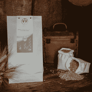 Semola integrale media di grano duro 5kg