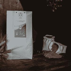 Semola integrale media di grano duro Senatore Cappelli Dorada, 100% sarda, macinata a pietra 5kg