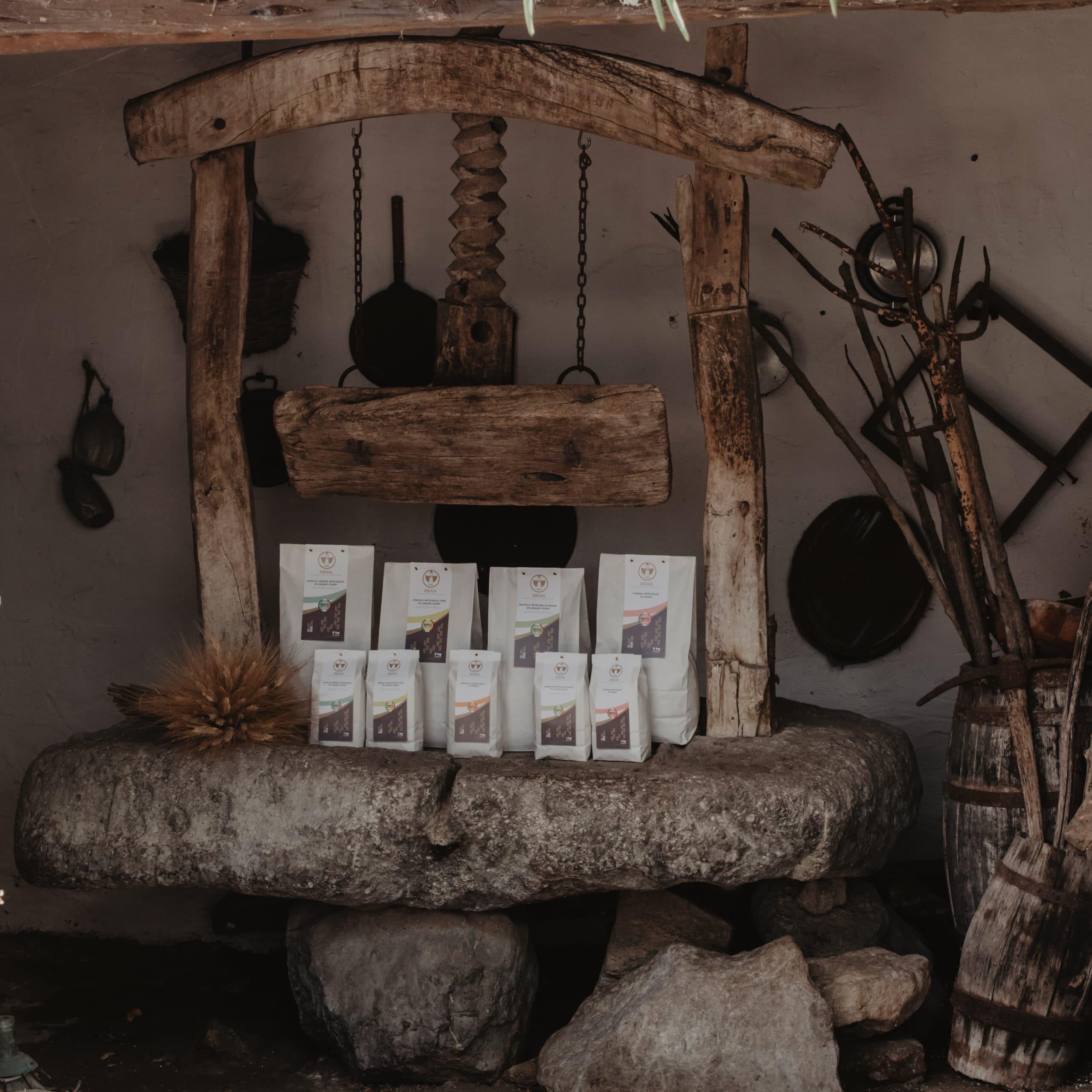 prodotti mulino artigianale Su Mori