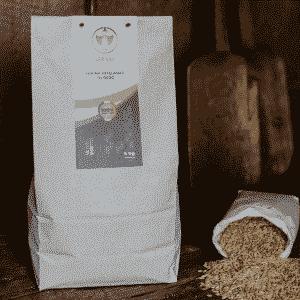 Farina Integrale d'Orzo Dorada, 100% sarda, macinata a pietra 5kg
