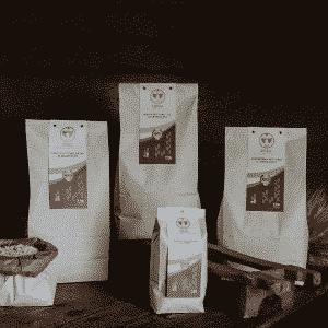 Selezione di Semole, Fior di Farina e Crusca/Cruschello Dorada integrali di grano duro 100% sardo macinate a pietra 5kg
