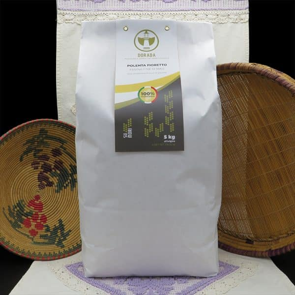 Farina di mais polenta fioretto 100% sarda macinata a pietra